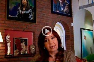 "Cristina Kirchner: ""Estamos muy contentos"""