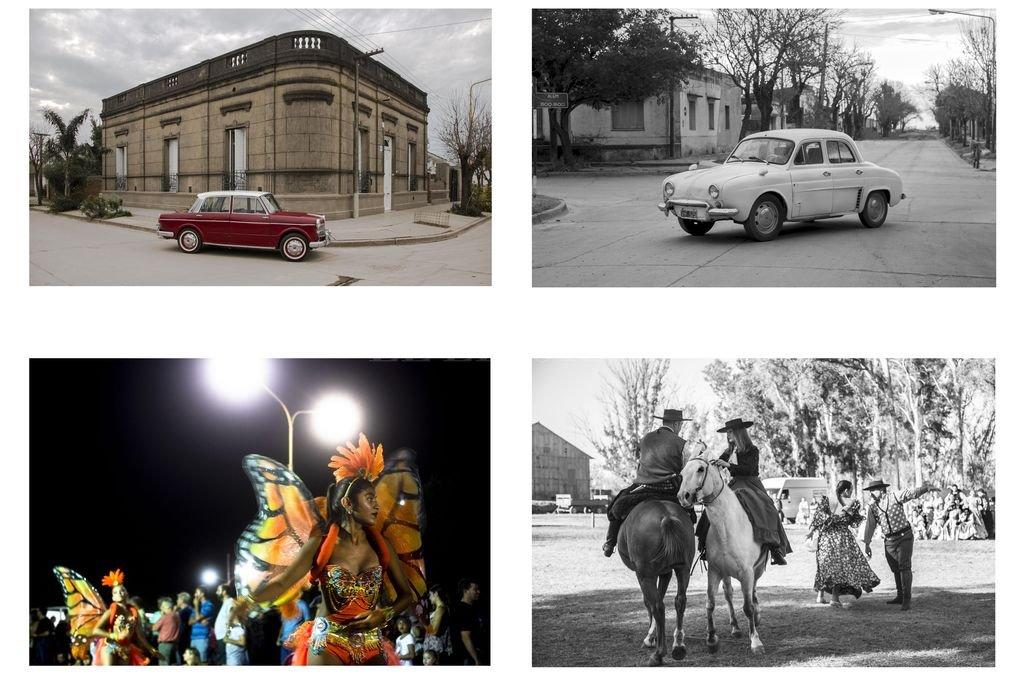 La cámara atenta de Meltem logró captar distintos momentos en la vida de la ciudad de Sastre que forman parte de la muestra. Crédito: Gentileza Meltem Sari
