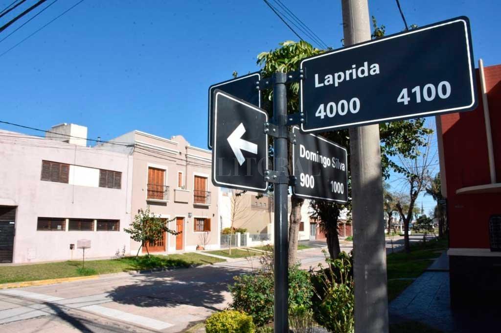 El grave suceso se produjo en la zona de Domingo Silva y Laprida.  Crédito: Guillermo Di Salvatore