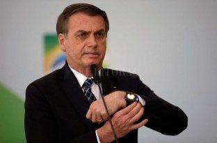 Bolsonaro acusa a ONGs ambientalistas por los incendios forestales en Amazonia
