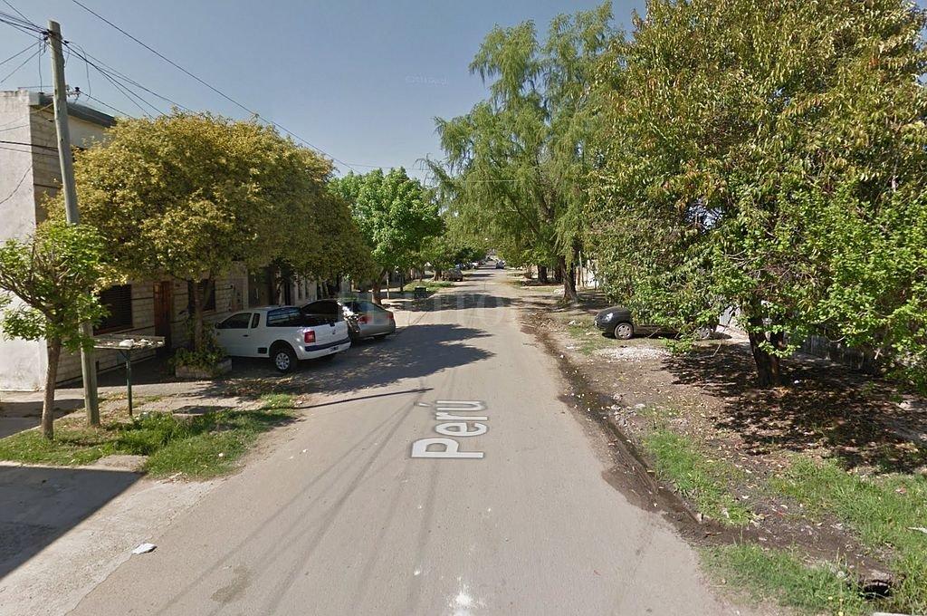 Calle Perú al 3000 de la ciudad de Rosario. Crédito: Captura digital - Google Maps Streetview