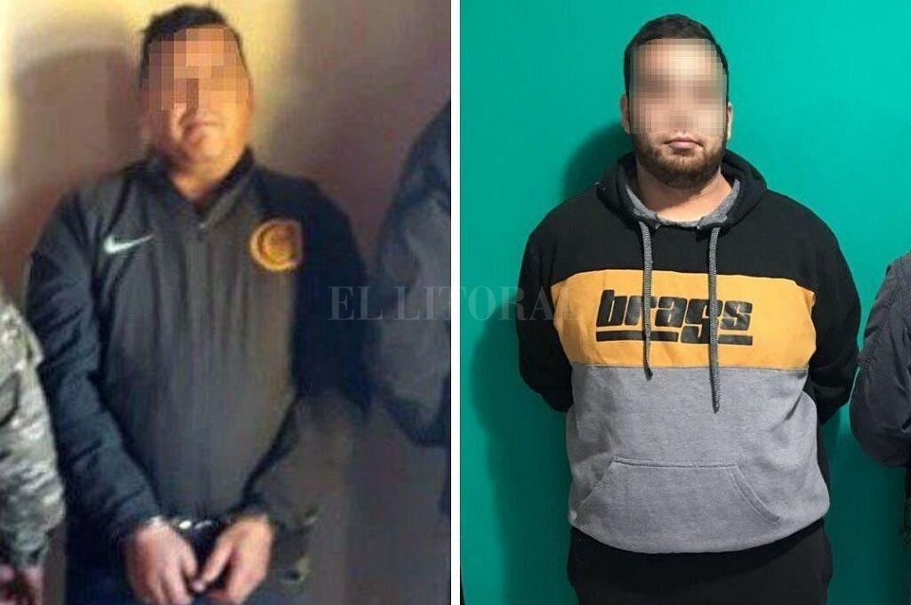 Los hermanos Abregú detenidos en Rosario. <strong>Foto:</strong> Prensa PSA