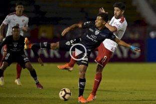 Independiente cayó en Ecuador y quedó afuera de la Copa Sudamericana