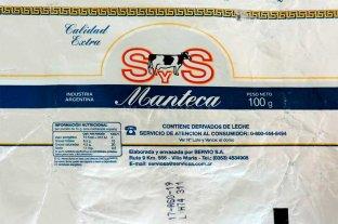 """Prohíben la Manteca Calidad Extra de la marca """"S&S"""""""