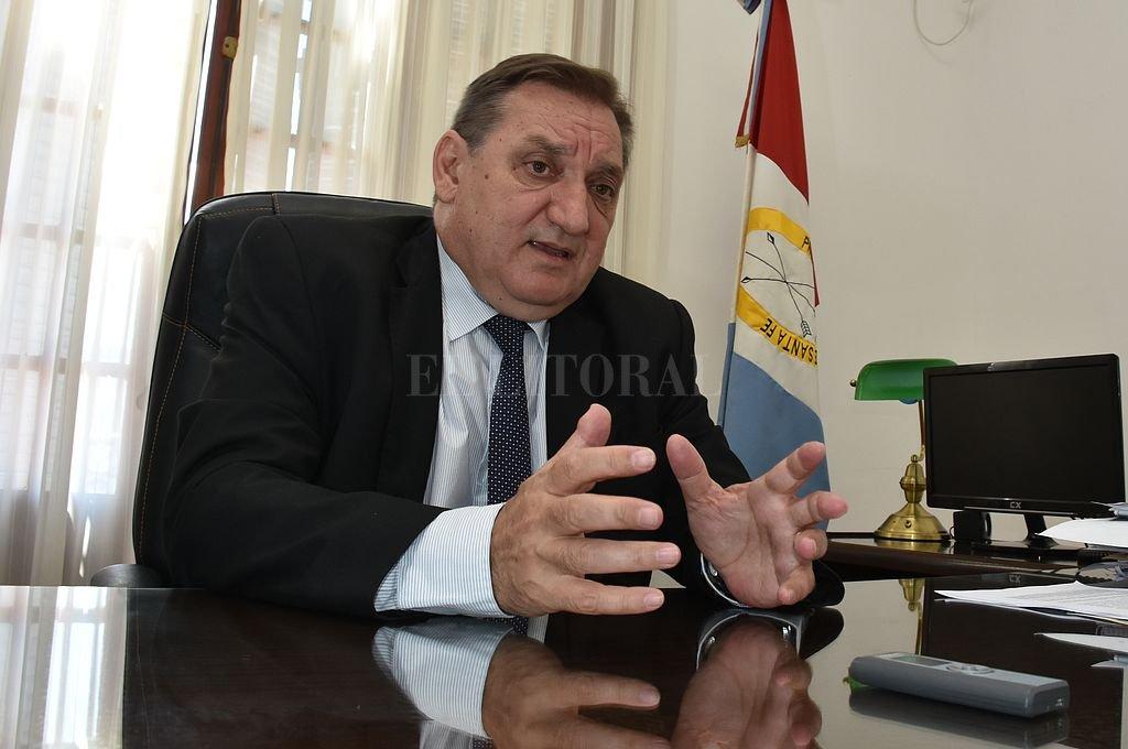 Julio Genesini, ministro de Trabajo y Seguridad Social de la provincia. <strong>Foto:</strong> Archivo El Litoral