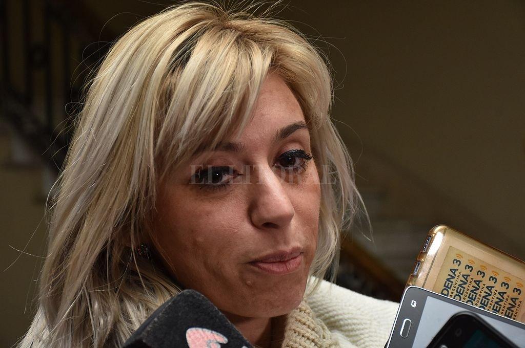 """La fiscal María Laura Martí sostuvo que por el momento """"son tres camionetas sustraídas entre el 22 y el 27 de mayo"""" en la provincia. <strong>Foto:</strong> Flavio Raina"""