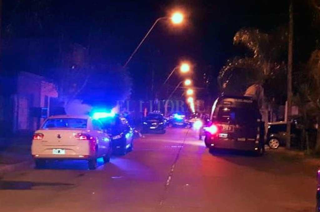 En la vivienda de Risso 1600 no se encontraron armas de fuego, aunque sí se secuestraron vainas calibre 9 mm.  <strong>Foto:</strong> Danilo Chiapello