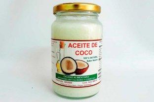 Prohíben el producto Aceite de Coco, 100% Natural Sabor Neutro