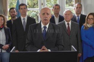 Roberto Lavagna anunció que suspende su campaña por unos días