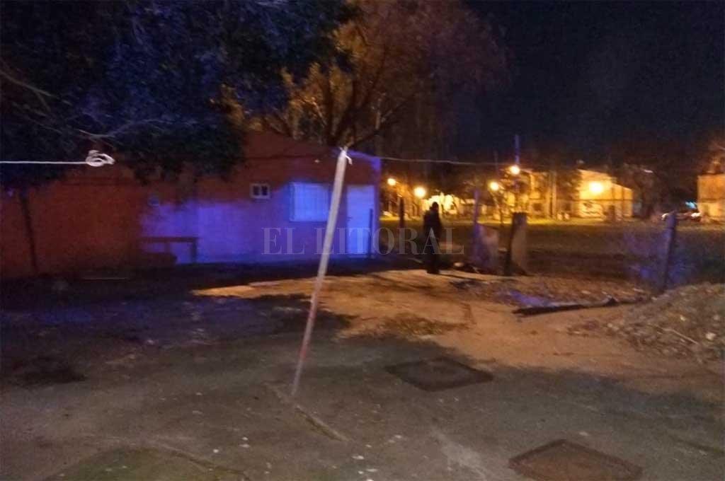 El hecho se produjo en los terrenos ubicados detrás de la Estación Belgrano <strong>Foto:</strong> El Litoral