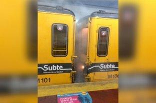 Incendio en la Línea E de subte en Buenos Aires: Trasladaron a 6 personas
