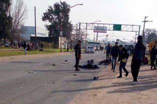 Motociclista fallecido tras un choque en avenida Blas Parera