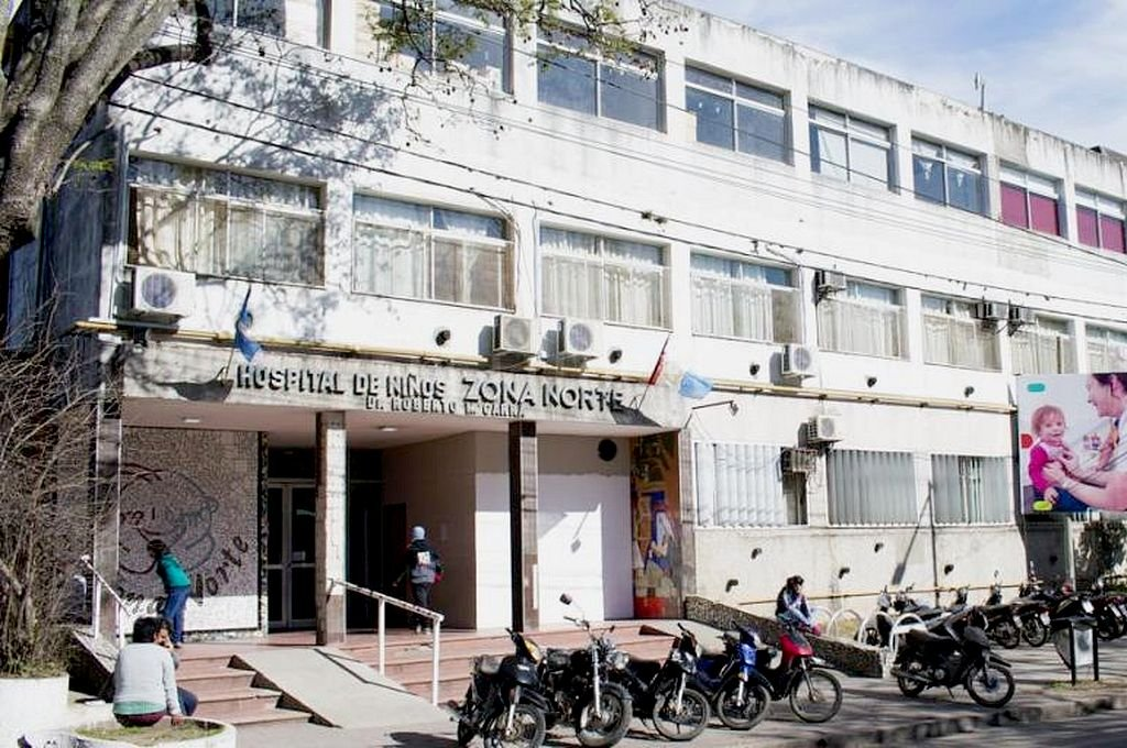 Hospital de Niños Zona Norte de Rosario. <strong>Foto:</strong> Captura digital