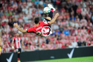 Con un golazo sobre el final, Athletic Bilbao derrotó al Barcelona -  -