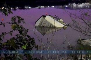 Se hundió la casa flotante que estaba amarrada en el Dique II -