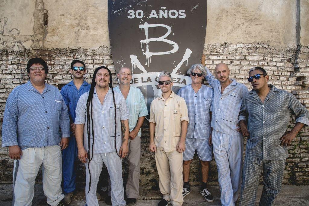 Pijamas intensos: Bersuit Vergarabat planea lanzar un material doble, sucesor del disco en vivo que se volvió banda sonora de una época. <strong>Foto:</strong> Gentileza producción