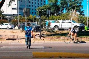 Alrededor del 20% de las víctimas fatales del tránsito son peatones