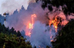Incendio en Isla Gran Canaria: 1.500 hectáreas quemadas y 4.000 evacuados