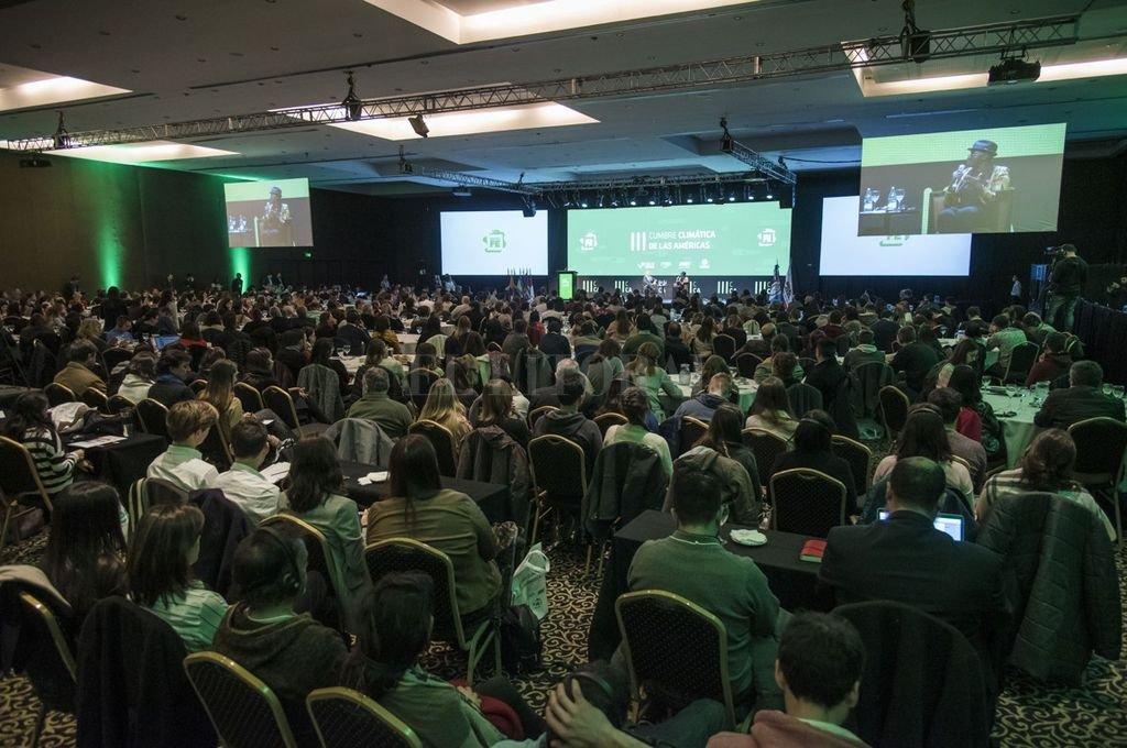 El jueves se realizaron las charlas abiertas a un amplio público en las instalaciones del hotel Ros Tower. <strong>Foto:</strong> Marcelo Manera