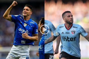 El Santos de Sampaoli perdió con Cruzeiro y Dani Alves marcó su primer gol en San Pablo