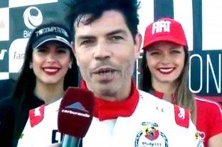 """""""Chino"""" Garcé y su primer podio en el automovilismo argentino"""