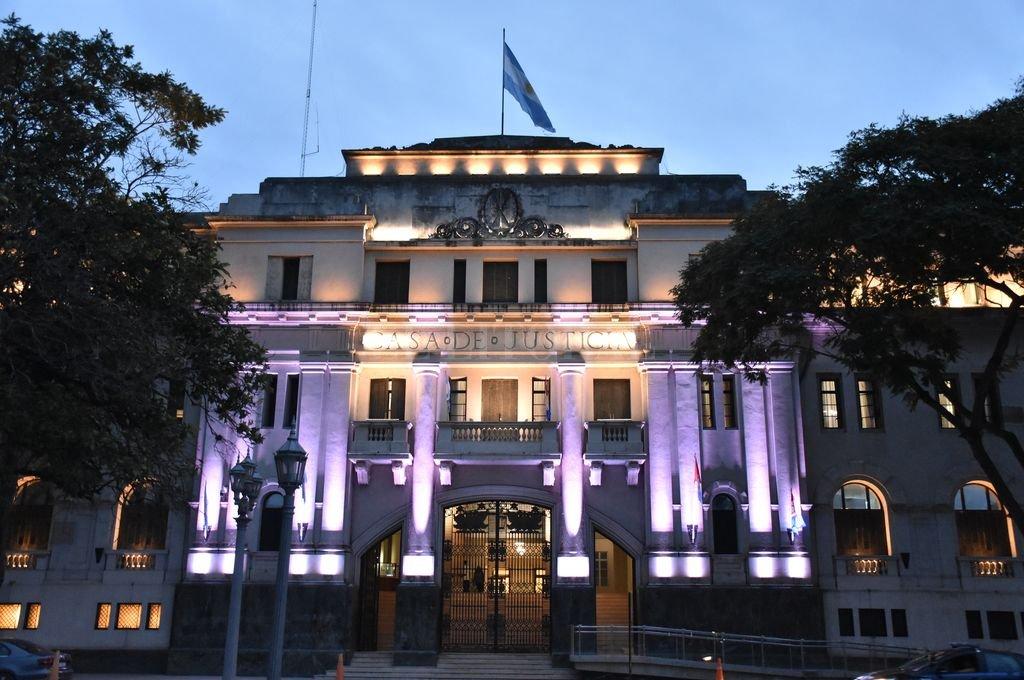 Palacio de Tribunales de Santa Fe. Crédito: Manuel Fabatía