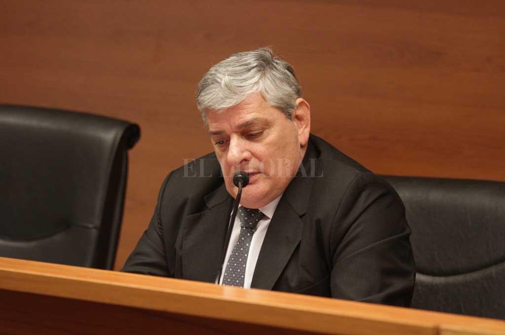 Juez Jorge Patrizi. Crédito: Archivo El Litoral