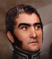 Como en una foto digital: así se veía el rostro de San Martín