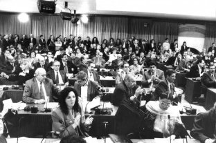 Infografía multimedia: así estaba conformada la Convención Constituyente de 1994
