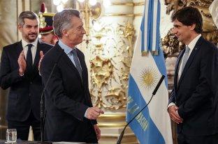 Lacunza juró como nuevo ministro de Hacienda de la Nación