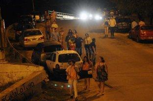 """Un """"trapito"""" sería el principal sospechoso - Descontrol. Iluminación deficiente, ausencia de policías y de ambulancias, descontrol vehicular; algunos de los males que se observan en la zona de boliches en el acceso a Alto Verde. -"""