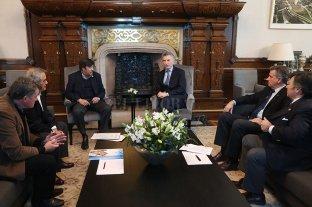 Macri recibió a las autoridades de la Mesa de Enlace -  -