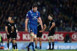 Una de las piezas claves de Francia, rival de Los Pumas, fue suspendido y se perdería el Mundial