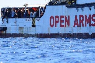 Open Arms: el fiscal italiano ordenó que desembarquen los inmigrantes