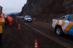 A 29 días del derrumbe, habilitaron la ruta nacional 40 entre Bariloche y Villa la Angostura  -  -