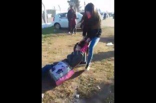 Video: mujeres a las trompadas en la cola de visitas de la cárcel de Piñero