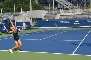 La santafesina Ormaechea quedó eliminada en la clasificación del US Open