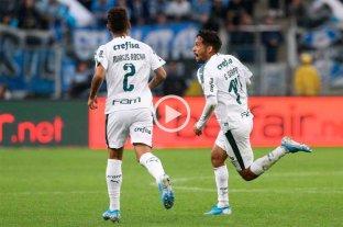 Palmeiras se impuso por la mínima ante Gremio