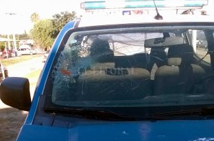 Detenido por arrojarle piedras a patrulleros policiales
