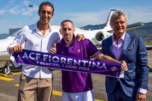 Franck Ribéry es nuevo jugador de la Fiorentina