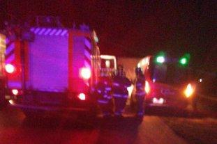 Accidente fatal en la autopista Santa Fe - Rosario