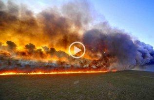 Récord de incendios en Amazonia: 72 mil focos desde enero