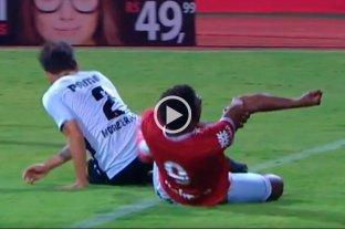 Video: Grave lesión en el fútbol brasileño