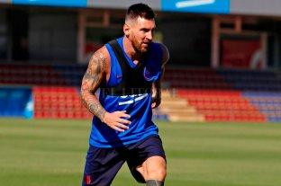 Messi continúa con su recuperación pero podría perderse el próximo partido