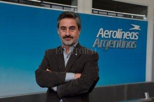 """""""Analizaremos punto por punto los pedidos de Santa Fe para mejorar los vuelos"""""""