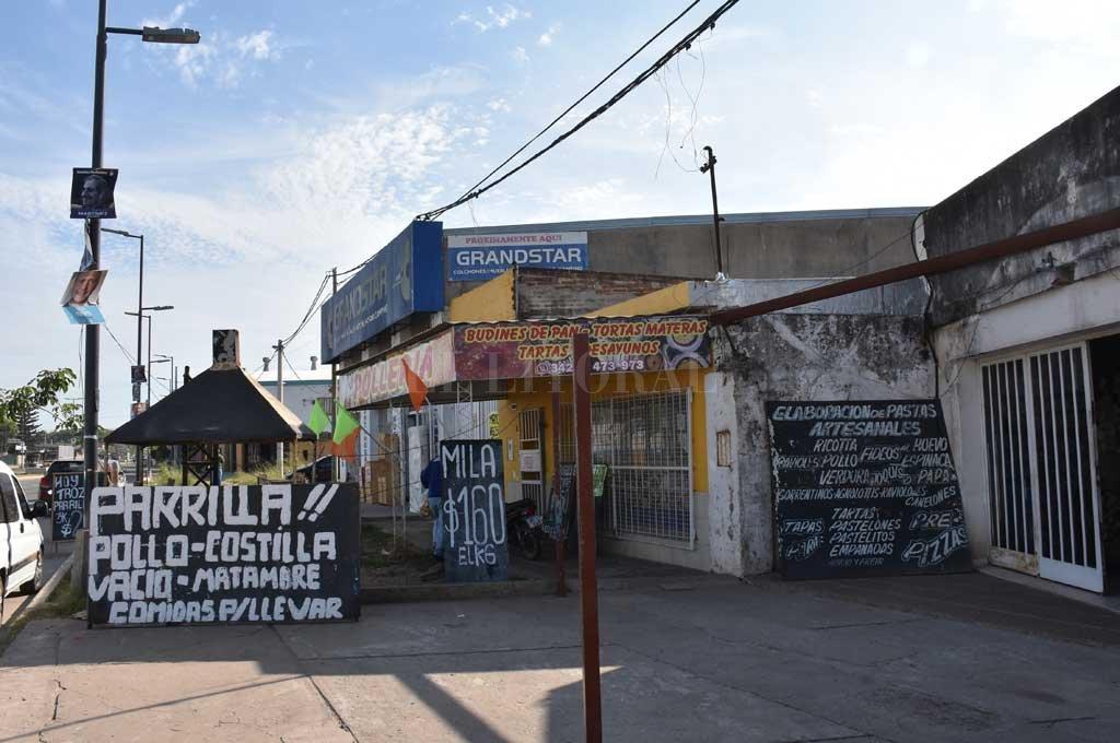 La parrilada de Blas Parera al 9300 donde se produjo el trágico episodio Crédito: Archivo El Litoral