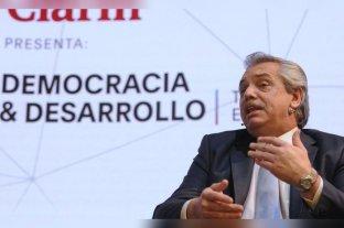 """Alberto Fernández: """"Argentina no tiene ninguna posibilidad de caer en default si soy presidente"""" -  -"""