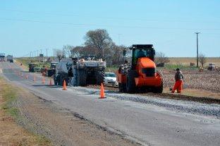 Ruta 178: empezaron los trabajo de rehabilitación