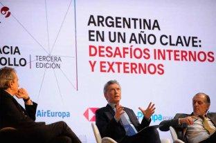 """Macri reconoció que fue """"demasiado ambicioso con las metas"""" -  -"""