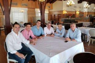 Peña y Frigerio se reunieron con la UCR para coordinar la campaña